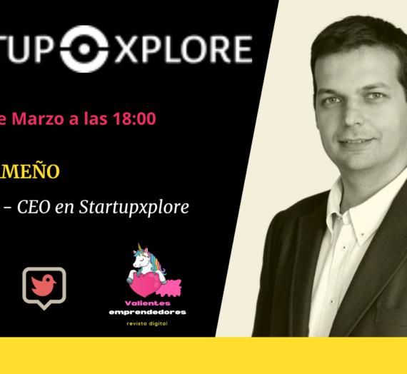 Entrevista a Nacho Ormeño CEO de Startupxplore