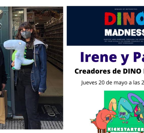 Entrevista a Irene y Pablo, creadores de DINO MADNESS