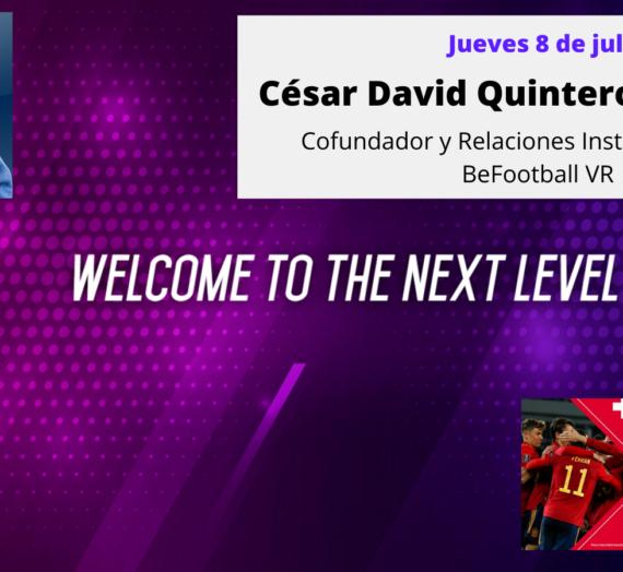 Valiente Entrevista a César D. Quintero Valle Relaciones Institucionales de BeFootball VR