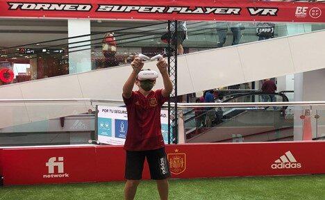 El Primer Torneo de Realidad Virtual de Fútbol organizado por Befootball todo un éxito