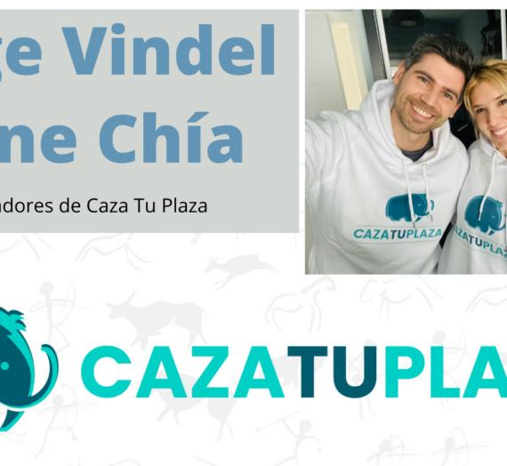 Valiente Entrevista a Irene Chía y Jorge Vindel cofundadores de CazaTuPlaza