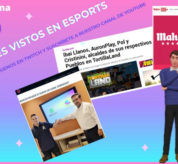 Programa 26 de #ValientesVistosEnEsports a través de webs y redes sociales el 05/10/2021