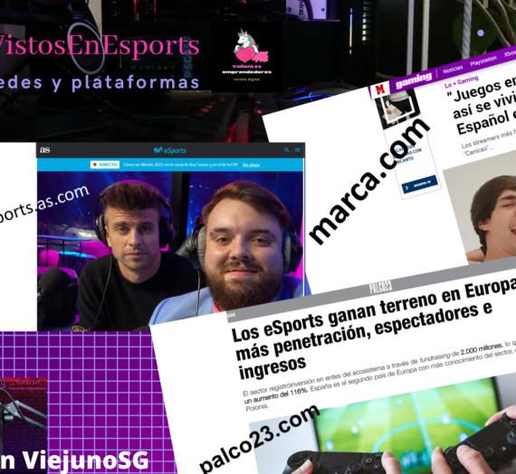 Presentación equipo LOL de Ibai y Piqué, auge de los esports en Europa, «Juego entre Casas» ganado por IbaiLand…