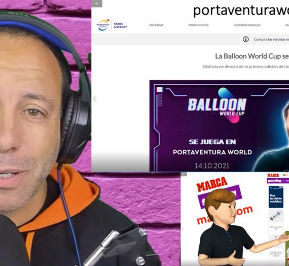 Casi todo preparado para la Balloon World Cup de Gerard Piqué e Ibai Llanos
